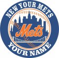 NEW YOUR METS iron on transfer