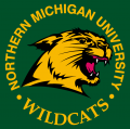 Northern Michigan Wildcats 1993-2015 Alternate Logo 01 decal sticker