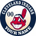 Cleveland Indians iron on transfer