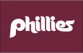 Philadelphia Phillies 1987-1991 Batting Practice Logo decal sticker