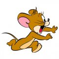 Tom and Jerry 7 logo decal sticker