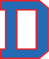 DePaul Blue Demons 1998 Alternate Logo decal sticker