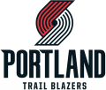 Portland Trail Blazers 2017-18-Pres Primary Logo iron on transfer