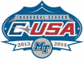 Middle Tennessee Blue Raiders 2013 Anniversary Logo iron on transfer