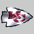 Kansas City Chiefs Stainless steel logo iron on transfer