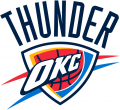 Oklahoma City Thunder 2008-09-Pres Primary Logo iron on transfer