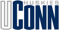 UConn Huskies 1996-2012 Wordmark Logo decal sticker