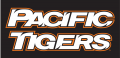 Pacific Tigers 1998-Pres Wordmark Logo decal sticker