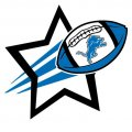 Detroit Lions Football Goal Star iron on transfer