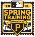 Pittsburgh Pirates 2015 Event Logo iron on transfer