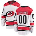 Carolina Hurricanes Custom Letter and Number Kits for White Jersey