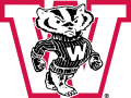 Wisconsin Badgers 1948-1956 Primary Logo iron on transfer