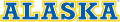 Alaska Nanooks 2000-Pres Wordmark Logo 05 decal sticker
