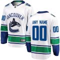 Vancouver Canucks Custom Letter and Number Kits for White Jersey