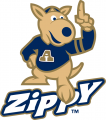 Akron Zips 2002-Pres Mascot Logo 02 decal sticker