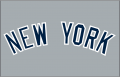 New York Yankees 1973-Pres Jersey Logo decal sticker decal sticker