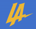 Los Angeles Chargers 2017 Unused Logo decal sticker