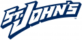 St. Johns Red Storm 1995-2003 Wordmark Logo decal sticker