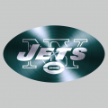 New York Jets Stainless steel logo iron on transfer