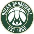 Milwaukee Bucks 2016-Pres Alternate Logo 02 decal sticker