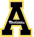 Appalachian State Mountaineers 2014-Pres Alternate Logo decal sticker