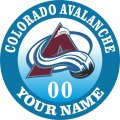 Colorado Avalanche iron on transfer