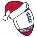 New England Patriots Football Christmas hat iron on transfer