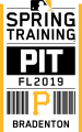 Pittsburgh Pirates 2019 Event Logo iron on transfer