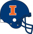 Illinois Fighting Illini 2012-2013 Helmet decal sticker