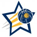 Indiana Pacers Basketball Goal Star decal sticker