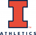 Illinois Fighting Illini 2014-Pres Alternate Logo 01 decal sticker