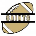 Football New Orleans Saints Logo iron on transfer