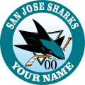 San Jose Sharks iron on transfer