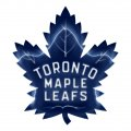 toronto maple leaves crystal logo iron on stickers