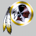 Washington Redskins Stainless steel logo iron on transfer