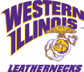 Western Illinois Leathernecks 1997-Pres Secondary Logo 01 decal sticker