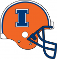 Illinois Fighting Illini 2013 Helmet decal sticker
