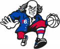 Philadelphia 76ers 2015-Pres Alternate Logo 01 decal sticker