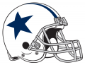Dallas Cowboys 1960-1963 Helmet iron on transfer
