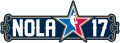 NBA All-Star Game 2016-2017 Wordmark decal sticker