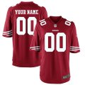 San Francisco 49ers Custom Letter and Number Kits For Red Jersey