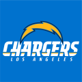 Los Angeles Chargers 2017-Pres Wordmark Logo 01 decal sticker