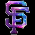 galaxy san francisco giants decal stickers