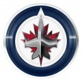 winnipeg jets crystal logo iron on stickers