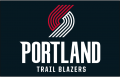 Portland Trail Blazers 2018-Pres Primary Dark Logo iron on transfer