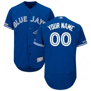 Toronto Blue Custom Letter and Number Kits for Blue Jersey