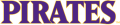East Carolina Pirates 2014-Pres Wordmark Logo 01 iron on transfer