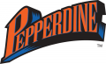 Pepperdine Waves 1998-2003 Wordmark Logo decal sticker