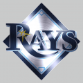 Tampa Bay Rays Stainless steel logo iron on transfer