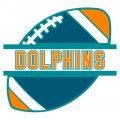 Football Miami Dolphins Logo iron on transfer